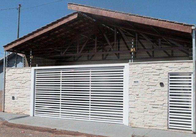 Casa quitada e escriturada Residencial Júlio Domingos de Campos