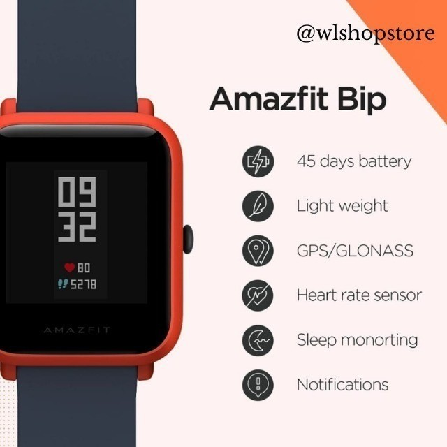 Relógio Inteligente Xiaomi Amazfit Bip (White Cloud) - Foto 4
