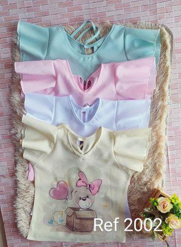 blusa infantil  por encomenda  - Foto 2