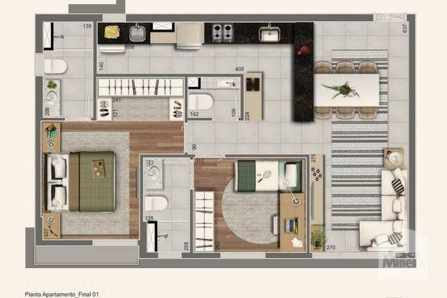 Apartamento à venda com 2 dormitórios em Lourdes, Belo horizonte cod:267374 - Foto 3
