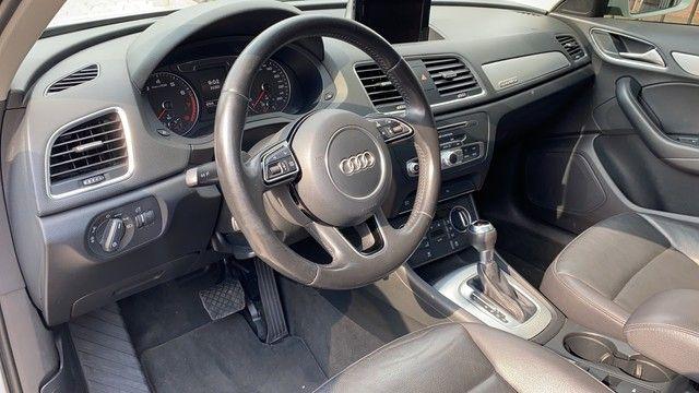 Audi Q3 2.0 TFSI COM TETO 2016 IMPECÁVEL!! - Foto 8