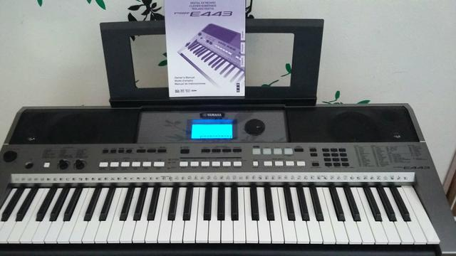 teclado yamaha psr e443 usb pendrive instrumentos. Black Bedroom Furniture Sets. Home Design Ideas