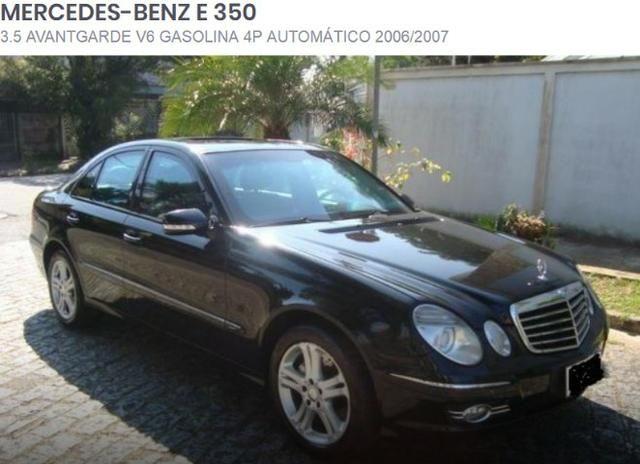 Motor Da Mercedes Benz E350 3.5 Avantgarde V6 Gas 2006/2007
