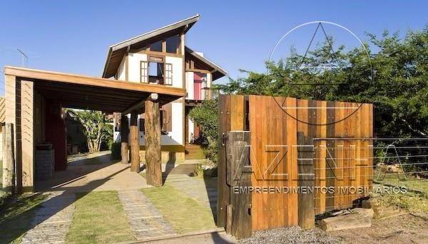 Casa à venda com 1 dormitórios em Praia de ibiraquera, Imbituba cod:691