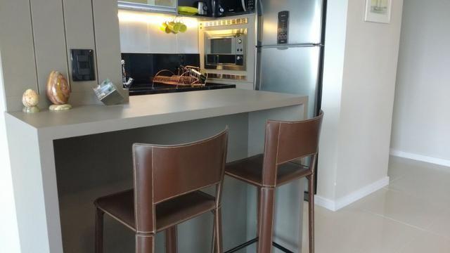 Excelente Apto, ültimo andar, peças amplas, ótimo p/ adequação dos móveis, semi-mobiliado - Foto 11