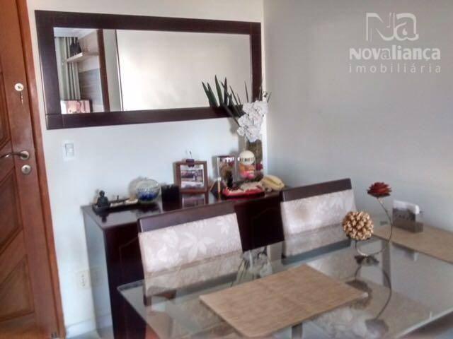 Apartamento com 3 dormitórios à venda, 78 m² por R$ 340.000 - Jardim Camburi - Vitória/ES - Foto 9