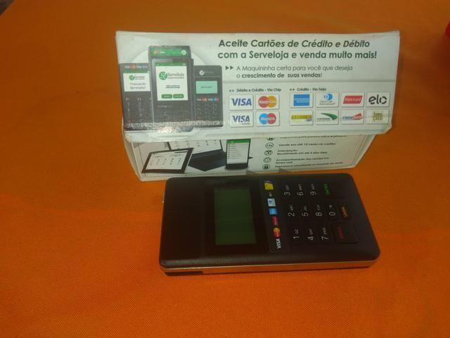 Vendo máquina para cartão de crédito