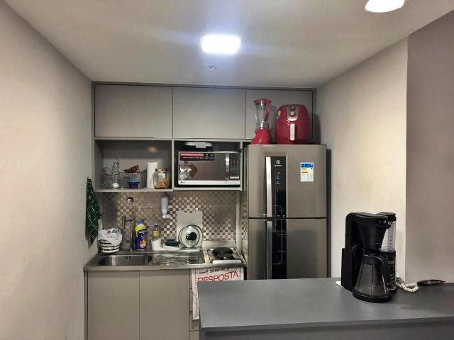 Apartamento com 1 dormitório à venda, 44 m² por r$ 350.000 - caminho das árvores - salvado - Foto 5