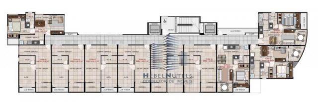 Apartamento com 1 dormitório à venda, 40 m² por R$ 240.000 - Jatiúca - Maceió/AL - Foto 17