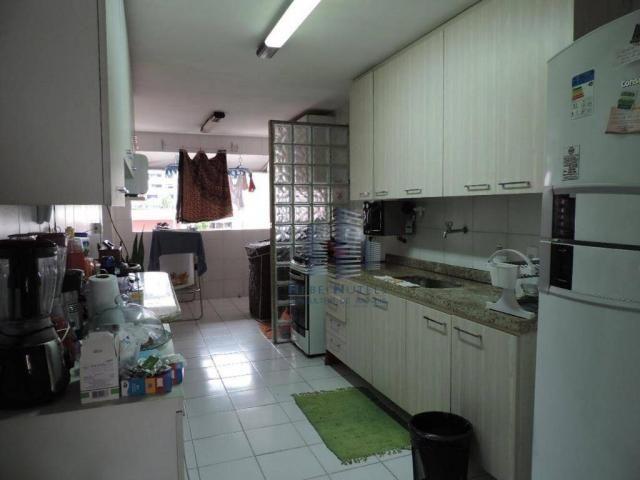 Apartamento com 4 dormitórios à venda, 133 m² por R$ 750.000 - Jatiúca - Maceió/AL - Foto 13