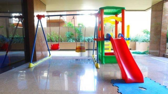 Apartamento com 4 dormitórios à venda, 319 m² por R$ 2.751.500,00 - Jatiúca - Maceió/AL - Foto 5