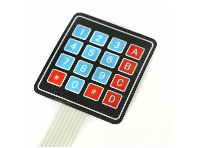 COD-AM39 Teclado Membrana Matricial 4x4 16 Teclas Keypad Arduino Pic Robotica - Foto 3