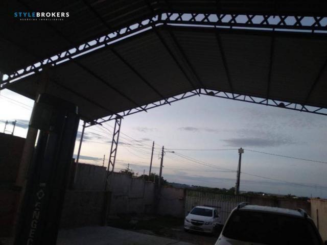 Galpão à venda, 154 m² por R$ 850.000 - Bairro Figueirinha - Várzea Grande/MT - Foto 3