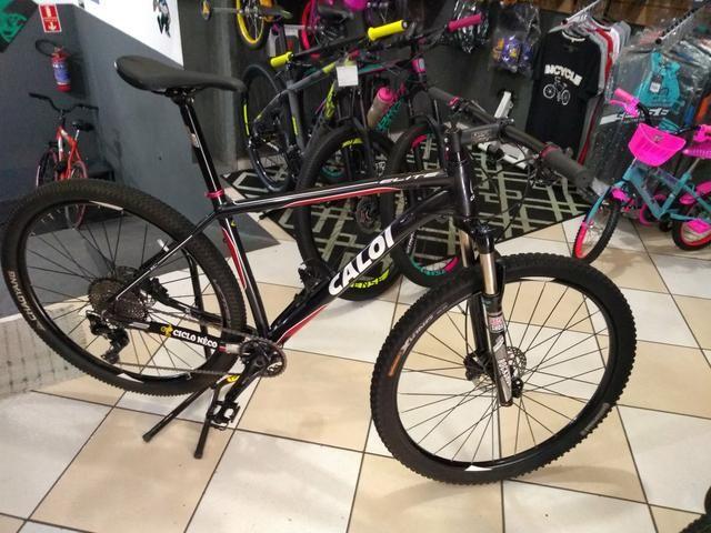 Bicicleta aro 29 Caloi,kit XT suspensão vc a ar