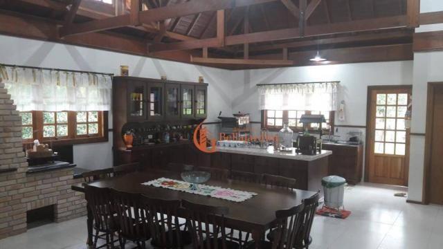Chácara com 3 suítes à venda, 4000 m² por R$ 900.000 - Zona Rural - Piranguçu/MG - Foto 2