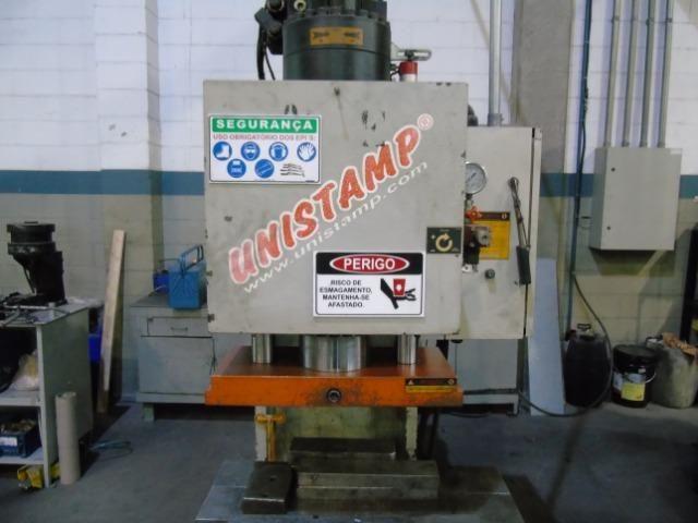Prensa Hidráulica Tipo C Dupla 40 toneladas Unistamp - Foto 5