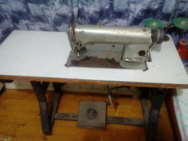 Vendo maquina reta industrial modelo mais antiga