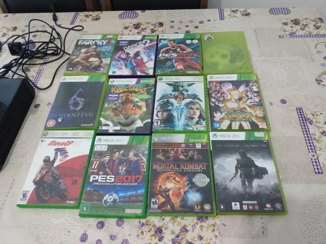 Xbox 360 + 12 jogos - Foto 4