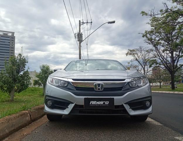 Honda Civic EXL 2018 garantia de fábrica até 2021 - Foto 2
