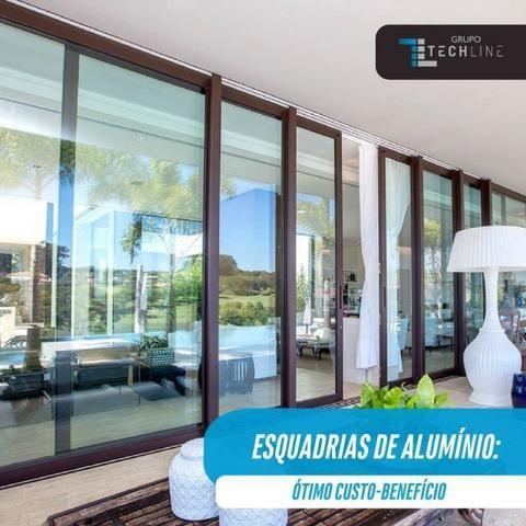 Envidraçamento de Sacada; vidro temperado; Esquadrias de alumínio e Pvc - Foto 4