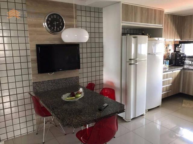 Apartamento com 3 dormitórios à venda, 235 m² por R$ 670.000 - Tirol - Natal/RN - Foto 18