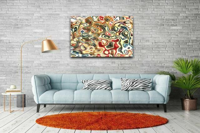 Quadros Decorativos canvas Abstratos e mais de 5 mil imagens - Foto 6