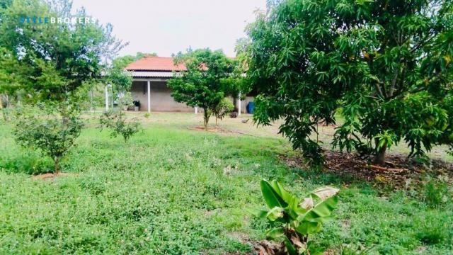Chácara na Beira de Rio com 4 dormitórios à venda, 3600 m² por R$ 260.000 - Zona Rural - S - Foto 15