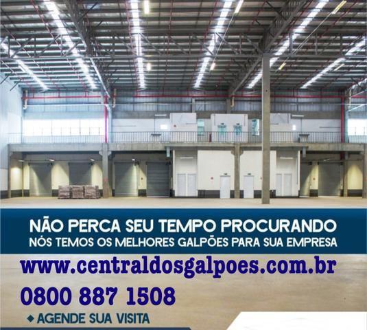 Alugue já seu galpão em Aracaju