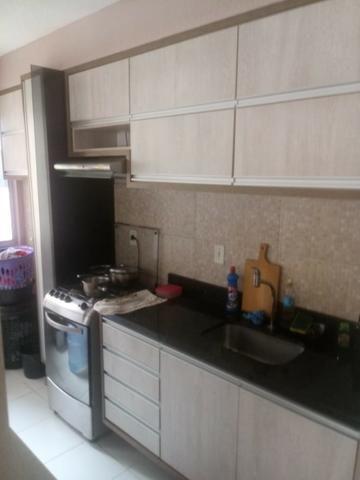 Apartamento Semi Mobiliado no Condomínio Villa Jardim Orquídea 3 Qts - Foto 3
