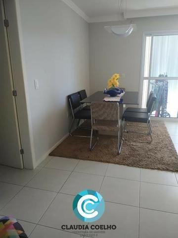 Belíssimo Apartamento 02 Quartos, Totalmente Mobiliado, na Praia do Morro! - Foto 4