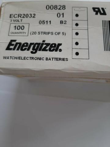 Caixa com 100 baterias cr2032 ou cr2025 - Foto 4