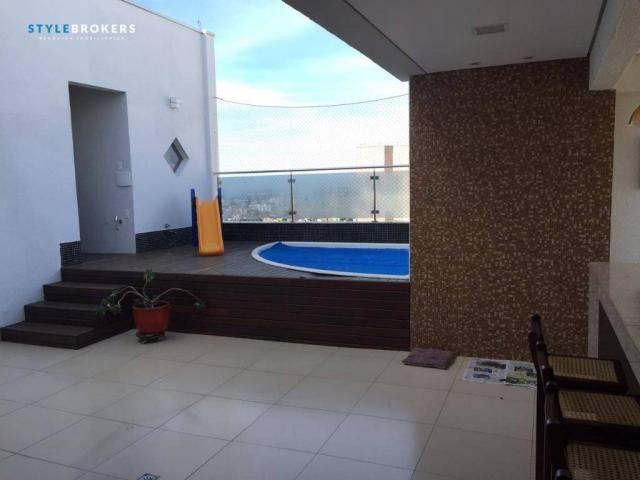 Cobertura no Edifício Sky Loft com 3 dormitórios à venda, 224 m² por R$ 1.300.000 - Bairro - Foto 6