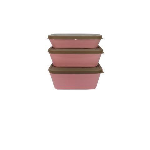 Potes de primeira qualidade para microondas e freezer - livres de bisfenol-A - Foto 4