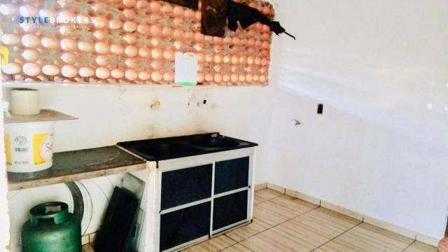 Chácara na Beira de Rio com 4 dormitórios à venda, 3600 m² por R$ 260.000 - Zona Rural - S - Foto 7
