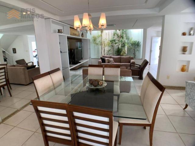Casa com 3 dormitórios para alugar, 450 m² por R$ 8.000/mês - Candelária - Natal/RN - Foto 7