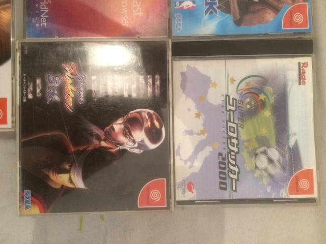 Lote de Jogos Dreamcast japoneses - Foto 3