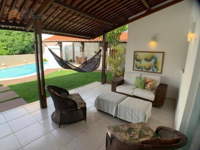 Casa com 3 dormitórios para alugar, 450 m² por R$ 8.000/mês - Candelária - Natal/RN