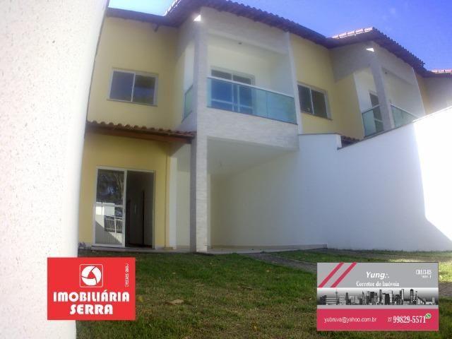 Yun - 30 - Casa 03 quartos c/suíte duplex com quintal em morada de laranjeiras