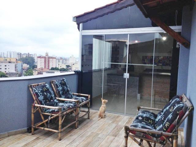 Cobertura à venda, 130 m² por r$ 650.000 - santa maria - são caetano do sul/sp - Foto 4