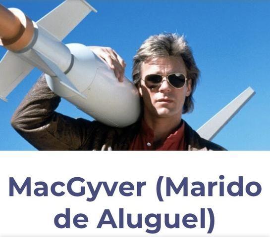 MacGyver MARIDO DE ALUGUEL