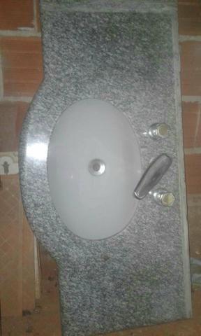 Oferta.pia de banheiro c/2 torneiras.lavatório - Foto 4