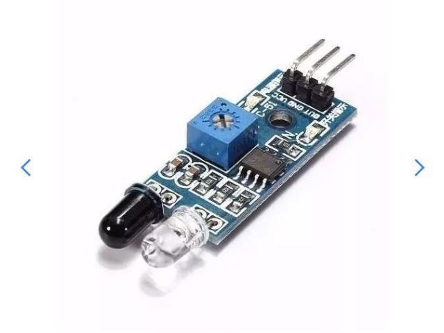 COD-AM18 Sensor De Obstáculo Infravermelho - Reflexão Lm393 Arduino Robotica - Automação