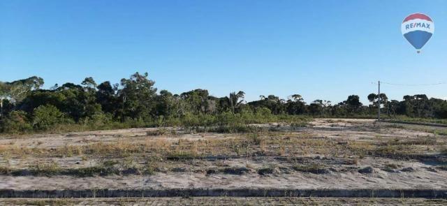 Terreno à venda, 716 m² por r$ 120.000 - residencial d'ville - porto seguro/ba