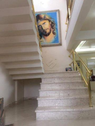 Sobrado no Condomínio Villa Felice com 5 dormitórios à venda, 880 m² por R$ 2.300.000 - Ja - Foto 4