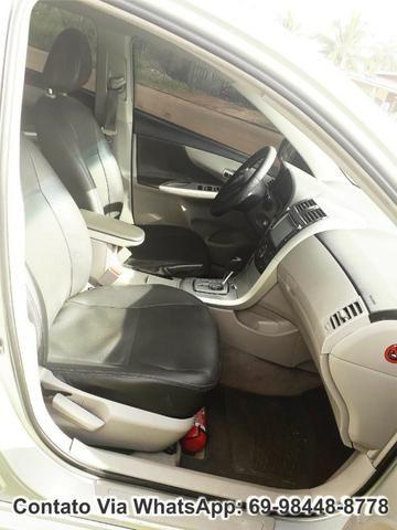 Toyota Corolla GLI Flex Ano 2012 Motor 1.8 Completo - Foto 8