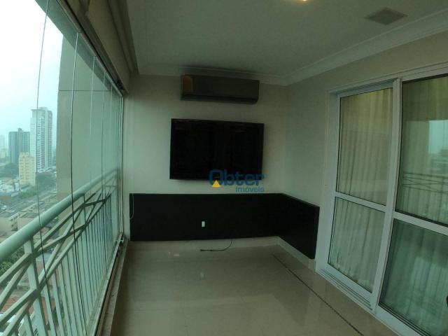 Apartamento com 3 suítes para alugar por R$ 7.150/mês - Setor Marista - Foto 16
