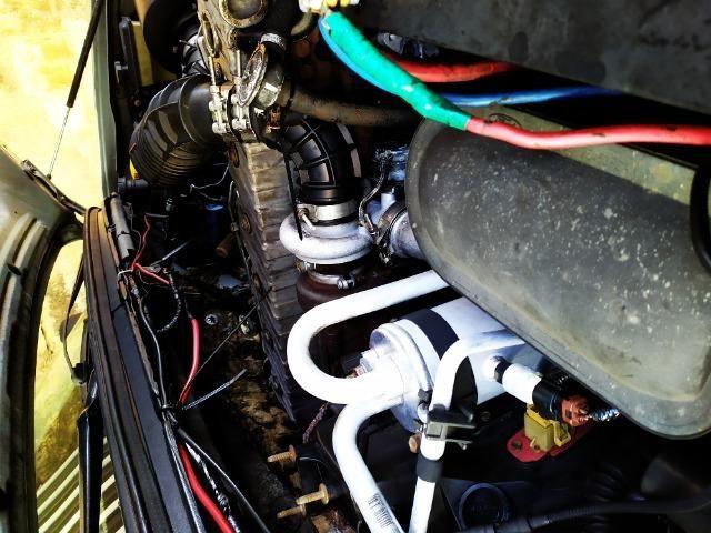 F250 99 diesel vendo ou troco em carro - Foto 9