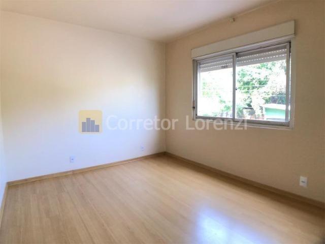 Apartamento de 85 m², 3 dormitórios, sacada, garagem - NH - Foto 4