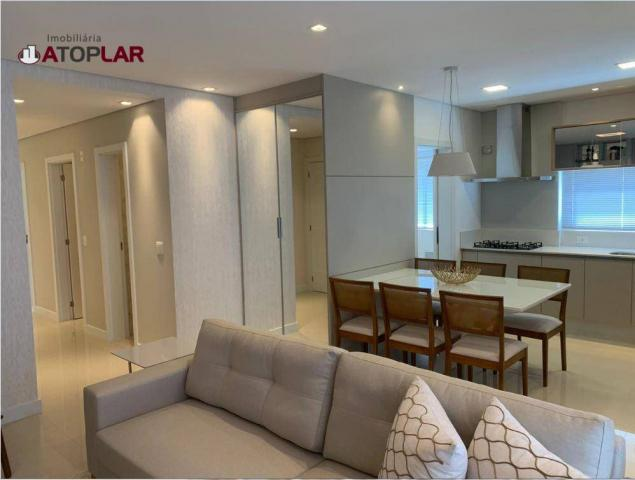 Apartamento garden com 3 dormitórios à venda, 208 m² por r$ 1.230.000,00 - pioneiros - bal