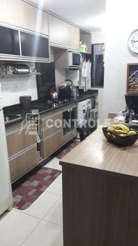 (W) Apartamento 02 dormitórios semi-mobiliado, em Jardim cidade, São José. - Foto 7
